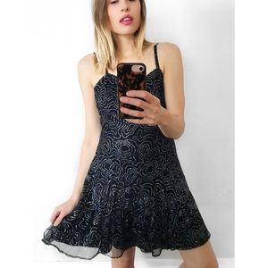 Vintage Sequin Skater Dress